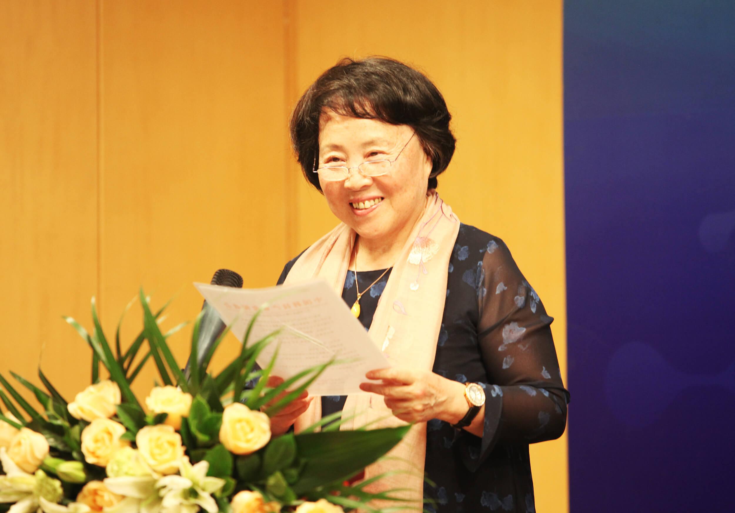 2018年11月9日中国科技产业化促进会副理事长肖威,宣读成立决定